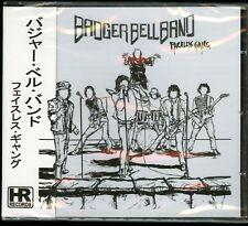 Badger Bell Band Faceless Gang CD new High Roller Records