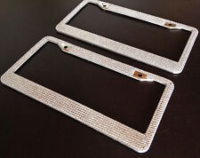 SALE PRICE Silver Bling License Plate Frame Crystal RhineStone Glitter Car SUV