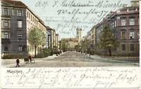 AK München, Max-Joseph-Straße, gel. am 30.7.1912 nach Rottweil
