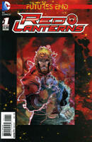 Futures End Red Lanterns #1 3D Cover Unread New Near Mint New 52 DC 2014 LBX3