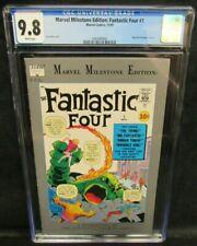 Marvel Milestone Edition: Fantastic Four #1 (1991) Reprints FF 1 CGC 9.8 V371