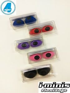 i-Minis 1x Pair Sunbed Tanning Goggles UV Eye Protection Random Colour