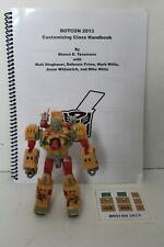 Transformers Botcon 2013 Custom Class Blastcharge Drone complete TFCC Machine