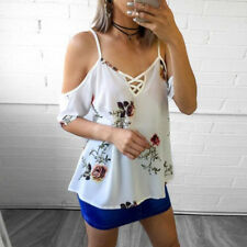 Womens Swing Dress Lace Floral Holiday Strappy Ladies Summer Beach Mini Sundress White 6