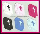 • • • Die Cuts ~ BIBLES x10 Baptism, Wedding, Sympathy ~ Stampin Up C/S ~ Cards