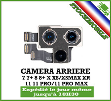 CAMERA ARRIERE IPHONE 7 / 8 / 7+ / 8+/ X / XS / XSMAX / XR / 11 / 11 PRO MAX