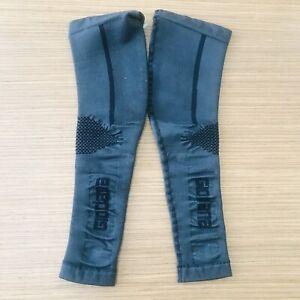 Giordana Cycling  Leg Warmers Knitted Hvy Weiget Black|BRAND NEW
