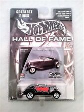 Hot Wheels HotWheels Hall of Fame 1933 Ford Roadster Greatest Rides New in box