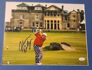 John Daly Signed 11X14 Photo Golf PGA JSA COA Autograph CIGARETTE IN THE MOUTH