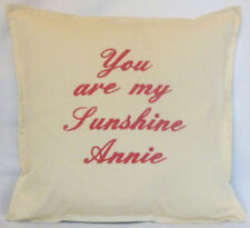 Antique Style 100% Cotton Personalised Decorative Cushions