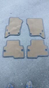 Land rover discovery 3 Bahama Beige Floor Mat Kit LHD Carpet