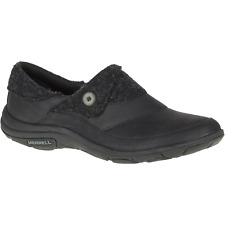 Merrell Womens Dassie Fold Slip On Shoe Black 6.5 #NJPAT-M623