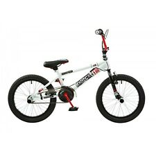 Rooster Radical 18 White - Red Freestyle Junior BMX Bike