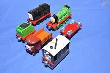 Set of SIX Take Along Trains:  HENRY, DIESEL, TOBY etc