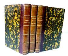 LETTRES de Mmes DE VILLARD - DE LAFAYETTE- DE NINON DE L'ENCLOS -Ed L.COLIN 1806