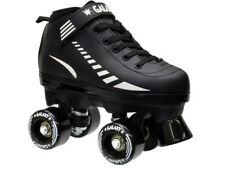 Epic Galaxy Elite Black Roller Skates Size Youth 11