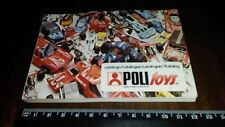 POLYTOYS polistil  CATALOGUE  1972 180 pages  rare  dinky