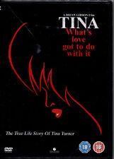 TINA LA VERA STORIA DI TINA TURNER - DVD NUOVO, IMPORT CON AUDIO ITALIANO, RARO!