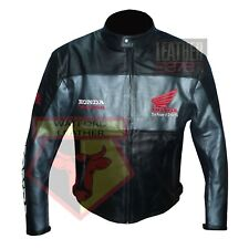 HONDA 5525 GREY MOTORBIKE COWHIDE LEATHER MOTORCYCLE BIKERS ARMOURED JACKET
