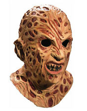 Nightmare On Elm Street Costume Accessory, Mens Freddy Krueger Full Mask