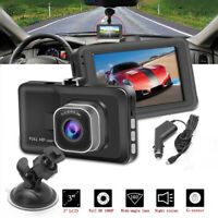 "3"" Car DVR Video Recorder Night Vision G Sensor Camera 1080P HD Vehicle Dash Cam"