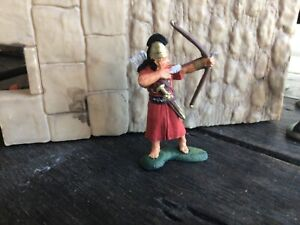 Engineer Basevich. Ancient Hitite archer warrior. 60mm painted plastic