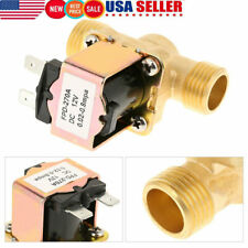 """Brass Electric Solenoid Valve Switch Water Air N/O DC12V 1/2"""" Normally Open Type"""