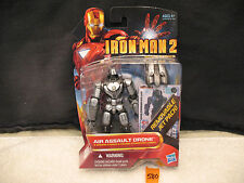 "Iron Man 2 Movie Series AIR ASSAULT DRONE 3.75"" Action Figure 17 New 2010 Hasbro"