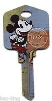 Mickey Mouse Keyblank-Lockwood LW4,Key Blank,House Key-FREE POST-DKD64