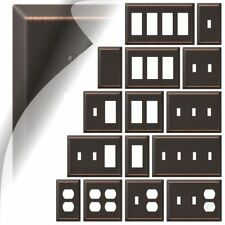 Bronze Switch Plate Cover Century Oil Rubbed Wallplate Toggle Outlet Rocker GFI