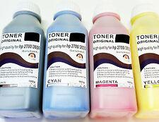 554 4 x  Recargas de Toner Color y Negro para Impresoras Laser Hp 2700 y 3600