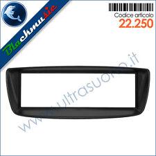 Mascherina supporto autoradio ISO Citroen C1 (2005-2013) col. nero