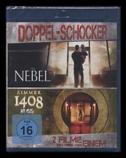 BLU-RAY DER NEBEL & ZIMMER 1408 - DIRECTORS CUT - 2 DISC SET - HORROR ** NEU **