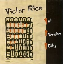 Victor Rice at Version City by Victor Rice CD Best in Boston BRAND NEW, SEALED
