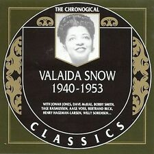 VALAIDA SNOW 1940-53 CLASSICS CD NEW SEALED