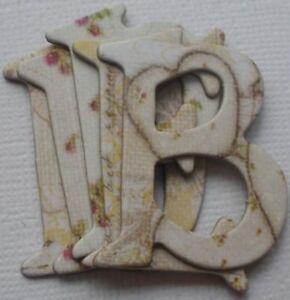 Prima JACK & JILL ~*UP UP & AWAY*~ Embellishment Chipboard Alphabet Letters