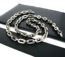 Non Allergic Custom Made Chain Pure Titanium Necklace for Harley Motor Biker 627