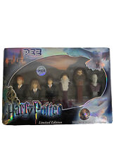 Pez Harry Potter Limited Edition Collector's Series Gift Set of 6 Candy 100 000