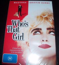 Who's That Girl (Madonna / Griffin Dunne) - (Australia Region 4) DVD - NEW