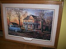 """Jim Hansel Kirby Vacuum  art """"Tradition of Excellence""""Vacuum Salesman """" signed"""