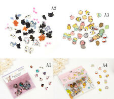 Newly 80Pcs DIY Cute Kawaii Transparent PVC Stickers Lovely Rilakkuma Sticker NQ