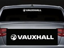 For VAUXHALL - REAR SCREEN CAR DECAL STICKER ADHESIVE - CORSA ASTRA 300mm long