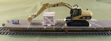 HO Scale Model Railroads & Trains - Freight Cars - CAT Excavator 320 E