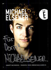Michael Elsener Autogrammkarte Original Signiert # BC 110881