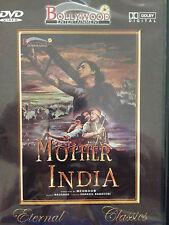 Mother India, DVD, Bollywood Ent, Hindu Language, English Subtitles, New