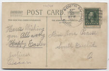 1914 South Euclid Ohio doane cancel on easter postcard Cuyahoga DPO [3489.20]
