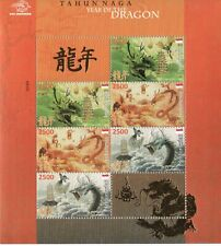 Indonesia. 2012.  Chinese New Year 2012 - Year of the Dragon. mini sheet
