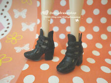 Doll Shoes ~ Blythe/Pullip type#3/#4 Style Black Ankle strap shoes 1pair#S1858