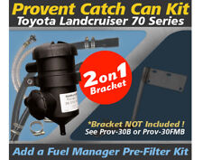ProVent Catch Can Kit PROV-30 for Toyota Landcruiser 70 Series Sing/Dual Battery