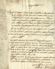 Ambrogio Giannelli Ispettore di Carlo Lodovico di Borbone sulle Commedie 1778
